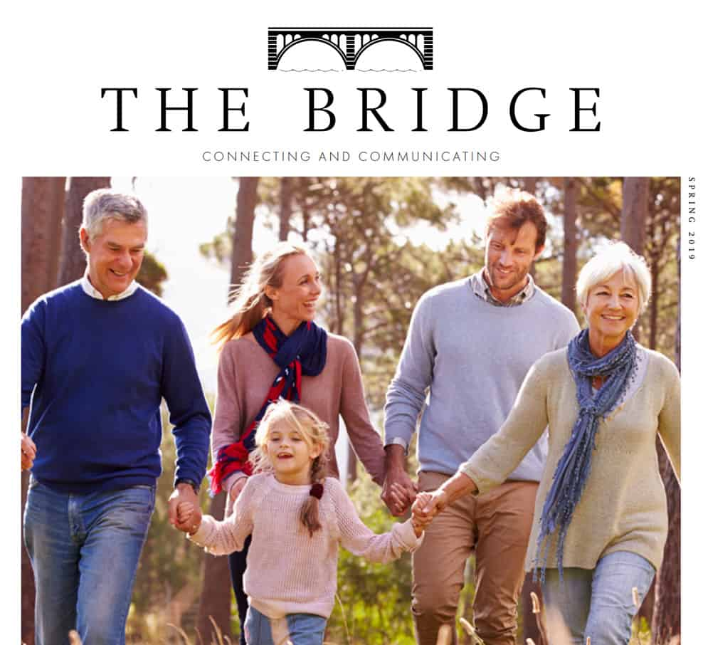 The Bridge Riverfall Financial's in-house publication
